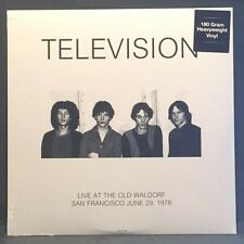 Television - Live at the Old Waldorf SF 1978 - Import - 180g SEALED NEW! LP