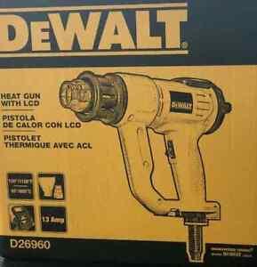 DeWalt - D26960K - Heavy Duty Heat Gun Kit with LCD Display