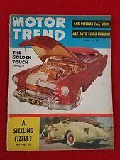 Motor Trend March 1954 Studebaker Commander - Hudson Hornet  Chrysler New Yorker