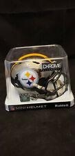 Pittsburgh Steelers Chrome Replica Mini Helmet Nfl Riddell