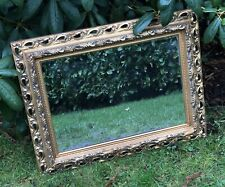 Antique Vintage Style Square Ornate Rococo Large Mirror