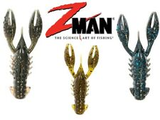 ZMan TRD CrawZ Lures 2.5inch for Z-Man ShroomZ Jig Heads Ned Rig Perch Fishing