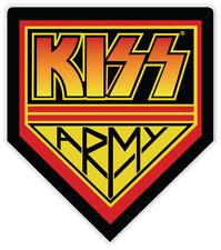 "KISS ARMY sticker decal 4"" x 5"""