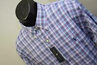 36598 New Mens Polo Ralph Lauren Classic Fit Performance Plaid Dress Shirt XL
