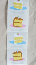 Mrs Grossman FUN CAKE SLICES - Strip With Retired Stickers {No Longer Printed}
