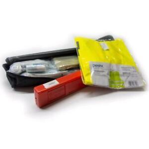 Pannen-Set**Warndreieck mit Box und Warnweste inklusive Tasche
