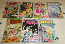 ~7x Comic Lot Silver Age Flash 161 Lois Lane 61 Metal Men 21 Superboy 116 + More