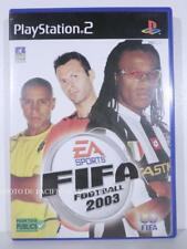 jeu FIFA FOOTBALL 2003 pour playstation 2 sony PS2 en francais sport complet