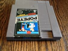 Popeye (Nintendo Entertainment System, 1986) USED NES FUN FREE USA SHIPPING
