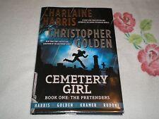 Cemetery Girl by Charlaine Harris & Christopher Golden  *Signed*