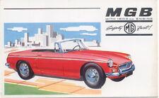 MG MGB Original Factory Postcard H&E 6247