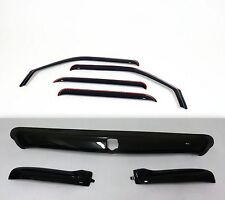 Dodge Ram 2002 - 2005 Bug Deflector Shield & In-Channel Vent Visor Combo