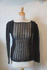 Original pull femme RELIGION noir  taille 38 neuf