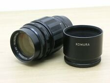 Sankyo Kohki Komura 135mm f3.5 Prime Lens M42