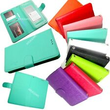 Universal Wallet Flip Slide Up Pouch Diary Cover Case Accessory For Nokia