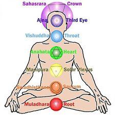 CHAKRA HEALING & BALANCING GUIDED MEDITATION CD 30 MINUTES