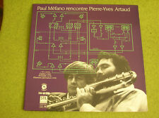LP PAUL MEFANO-PIERRE YVES ARTAUD-1984-SALABERT -STIL 0203 S 84