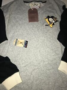 NWT Pittsburgh Penguins Mitchell & Ness NHL Team to Beat Premium Sweatshirt 3XL