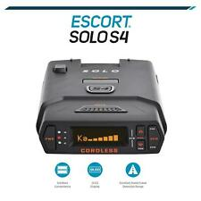 Escort Solo 4 Cordless Radar Laser Detector Aa Battery Powered Oled Display