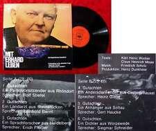 LP Mit Erhard leben - ein linguistisches Dampfbad
