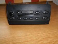 Rover 75 1.8 Club standard cassette player radio head unit