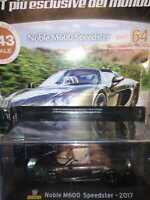 NOBLE M600 SPEEDSTER  2017  SUPERCARS GT COLLECTION 1:43 #64 - DIE CAST MIB