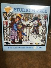 Artist Wendy Edelson THE KISS Studio Puzzle 1000 pc Bits and Pieces 20 x 27