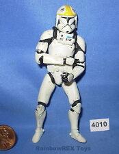 "Star Wars 2002 CLONE TROOPER Republic Gunship Pilot SWS 3.75"" figure #3"