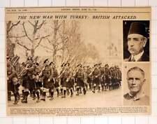 1920 nuova guerra con la Turchia ha attaccato Britannico GORDON HIGHLANDERS nel Marzo