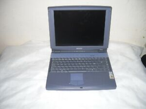 Vintage Laptop  sony pcg-f400  notebook computer  made in japan
