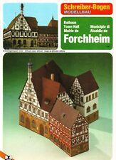 Schreiber-Bogen Kartonmodellbau Rathaus Forchheim