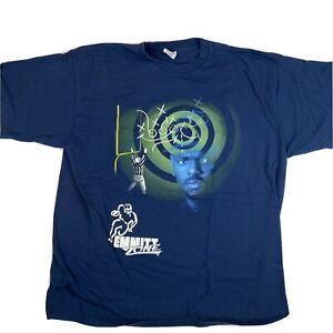 VTG Starter XL Emmitt Smith Dallas Cowboys Blue Emmitt Zone Tshirt Single Stitch