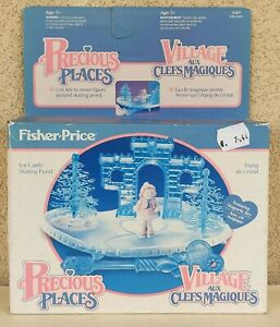 PRECIOUS PLACE FISHER PRICE VILLAGE AUX CLEFS MAGIQUES 1988 NEW SEALED 5187
