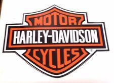 UNIQUE HARLEY DAVIDSON VINYL DECAL STICKER HARD TO GET 33CM X 25CM