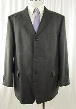 Woll Sakko Einreiher Gr DE 27 grau Blazer Jacket Veston Schurwoll mit Cashmere