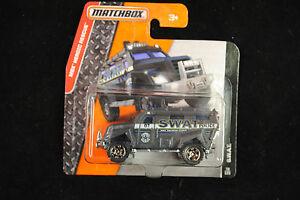 2016 Matchbox - S.W.A.T. Truck
