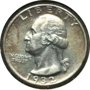 elf Quarter Dollar Washington 1932   060