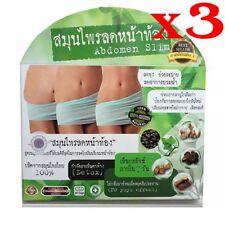 x3 Natural Herbal Abdomen Slim Belly Slimming Weight Loss Diet Pills Efficient.