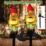 Christmas Santa Claus Solar Powered Garden Lights Stake Lamp Waterproof Outdoor
