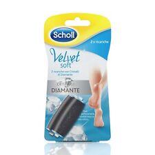 Scholl Velvet Soft, Nachfüllpack Ersatzrollen crstalli von diamanti 2 Stück