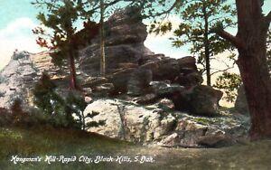 Black Hills, SD, Hangman's Hill-Rapid City, Unused Vintage Postcard a4648