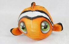 Fur Balls Clown Fish ~ Cute Cuddly Round Plush Pets, 3D Graphics, Style #11