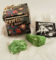 Vintage 1977 Superman Kryptonite Rock in Original Box DC Comics Glow in Dark