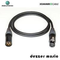 10m XLR Digital-Kabel BINARY Neutrik Gold/ AES/EBU 110 Ohm Sommer Cable/HIGH END