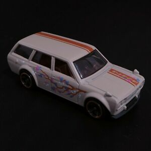 Hot Wheels '71 Datsun 510 Wagon LOOSE from the Nightburnerz 5 Pack - In VGC