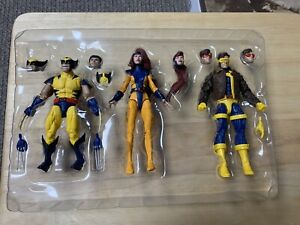 Marvel Legends - Love Triangle 3 Pack - Cyclops Wolverine - Figures - OPEN/NEW