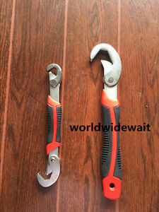 2PC Adjustable Dual Hook Quick Wrench Universal Wrenches Set 9-32mm
