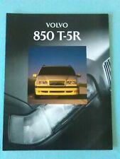 1994 Volvo 850 T-5R T5 R Brochure Publication no. 90009760-1