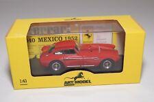 V 1:43 ARTMODEL ART MODEL ART037 FERRARI 340 MEXICO ROSSO PROVA 1952 MIB