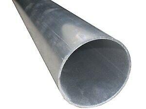 1m Aluminium pipe with 80mm diameter